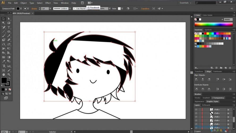 Adobe Illustrator Giao Dien