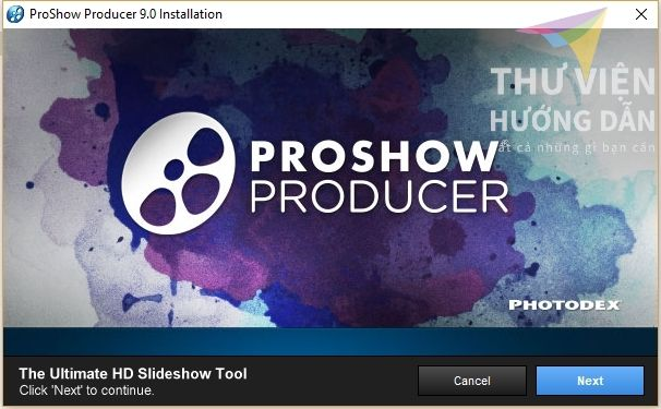 Cai Dat Va Crack Proshow Producer 9 03