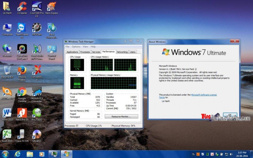 Ghost Win 7 Sp1 Ultimate 32bit 2017