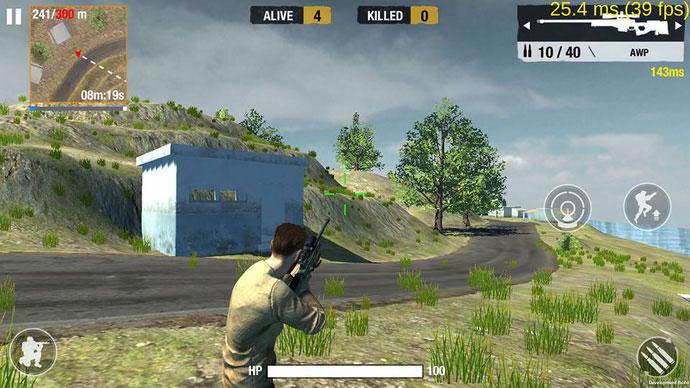 Bullet Strike Battleground