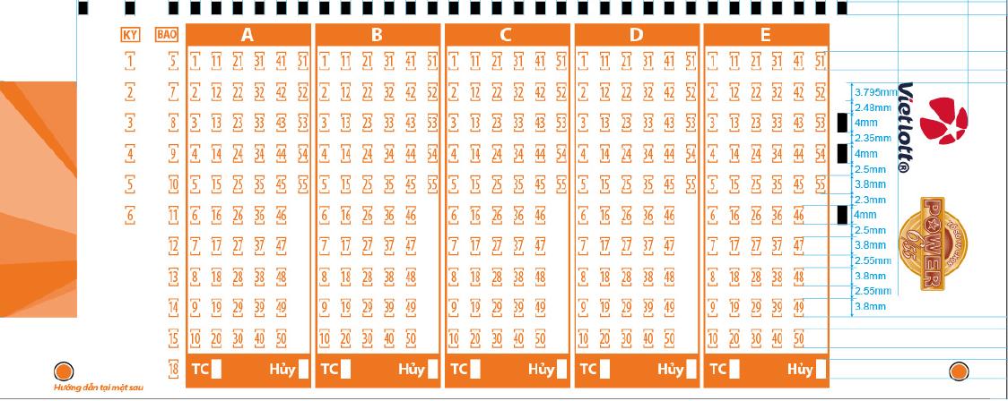 Thẻ chọn số Power cho người mua