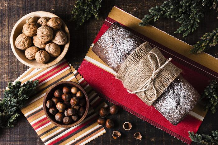 Bánh khúc cây truyền thống trong ngày Noel