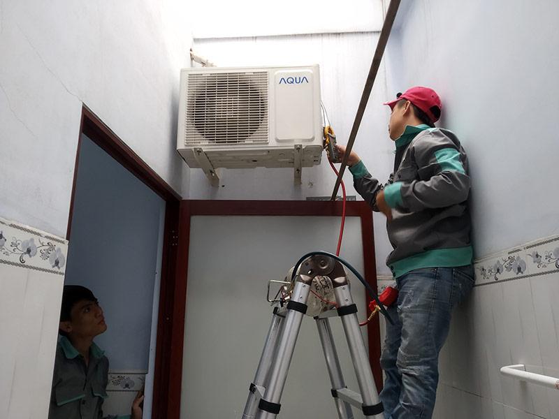 Nên chọn đội ngũ thợ lành nghề khi chọn nơi sửa máy lạnh tại quận 7