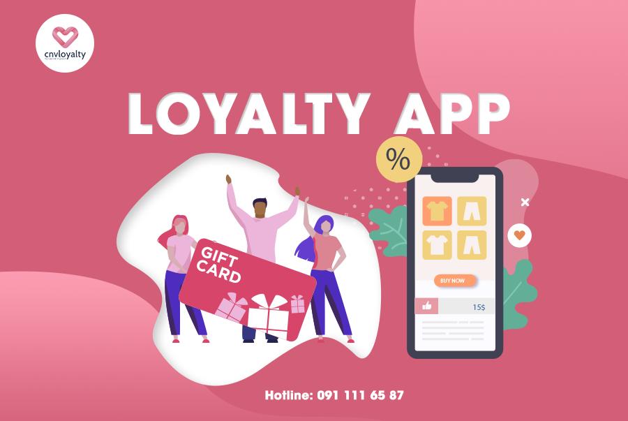 Ứng dụng chăm sóc khách hàng CNV Loyalty Platform