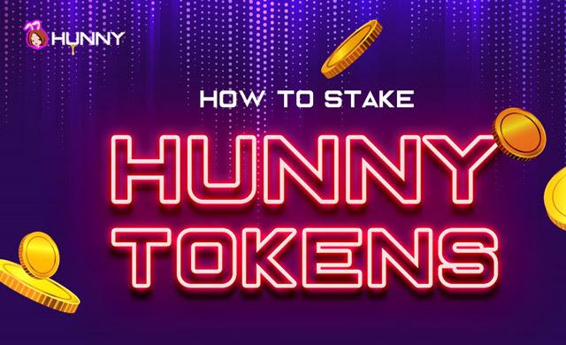 Quy trình Stake Hunny đơn giản